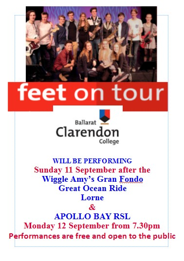 1609 rsl feet on tour