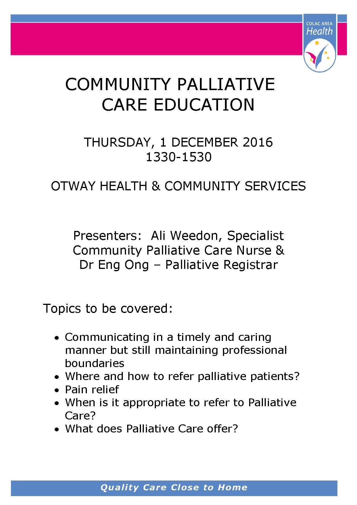 1612 oh palliative care education
